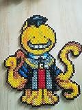 Pixel Art / Perler Beads Assassination Classroom Koro-Sensei