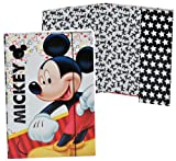 Unbekannt Ordner A4 - Mickey Mouse - für Hefte, Zettel und Mappen - Gummizugmappe Mappe Ordnermappe / Ordnungsmappe Hefter Heftbox A 4 Kinder Mädchen Jungen