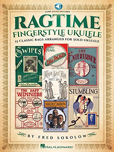 Download PDF Ragtime Fingerstyle Ukulele 15 Classic Rags Arranged