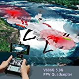 WLtoys V686G 5.8G Video FPV Drone RC Quadcopter Helicopter With 720P HD Camera