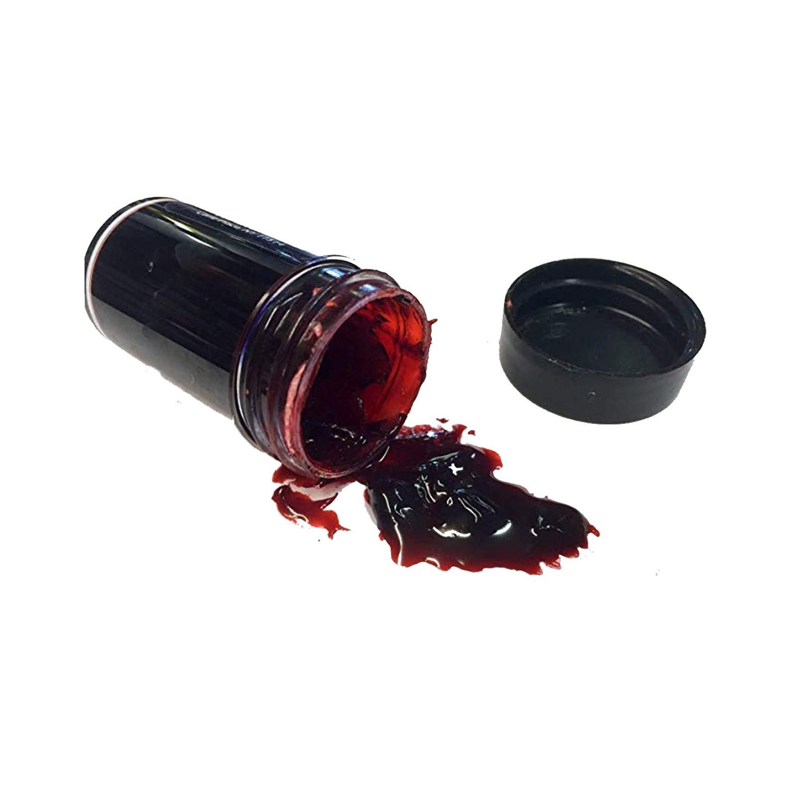 Wundschorf Verkrustetes Blut - dickes Kunstblut Schürfblut für Halloween Horror FX Spezial MakeUp