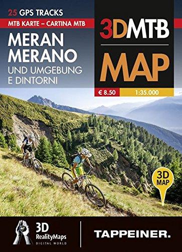 Preisvergleich Produktbild Moutainbike-Karte Meran und Umgebung: Cartina Mountainbike Merano e Dintorni (Mountainbike-Karten) (Mountainbike-Karten / Cartine Mountainbike)