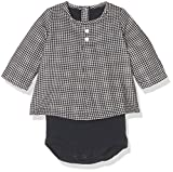 Petit Bateau Baby-Jungen Body Guimpe ml, Mehrfarbig (Smoking/Coquille 57), 68 (Herstellergröße: 6m/67cm)