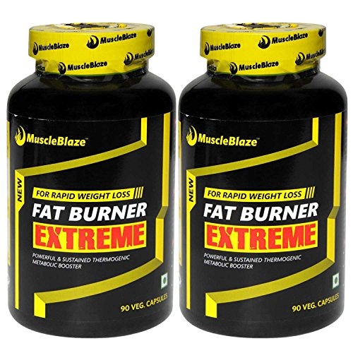 MuscleBlaze Fat Burner Extreme 90 Capsules Pack of 2  available at amazon for Rs.2099