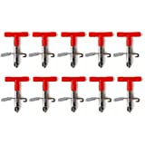 Futurekart Automatic Nipple Waterer Rabbit Bunny Hare Pig Feeder -10 Pieces - Red