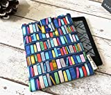 Bookcase Kindle Sleeve, Bright eReader Case - Kindle Oasis, Fire, Paperwhite, Voyage Cover