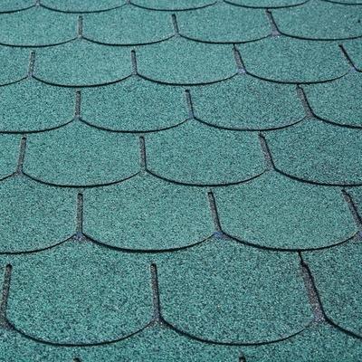 Dachschindeln Biberschwanz - Farbe: Grün