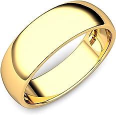 Briva 22k Gold Plated Plain Ring