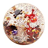 Moses 37907 Leuchtender Piraten Flummi-Springball mit Leuchteffekt