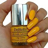 DeBelle Nail paint Caramelo Yellow - 8 ml (Yellow Nail Polish)