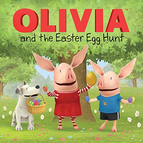 OLIVIA and the Easter Egg Hunt - Easter Eggs Tie