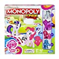 Hasbro - B8417 - Jeu de Plateau - Monopoly Junior - My Little Pony