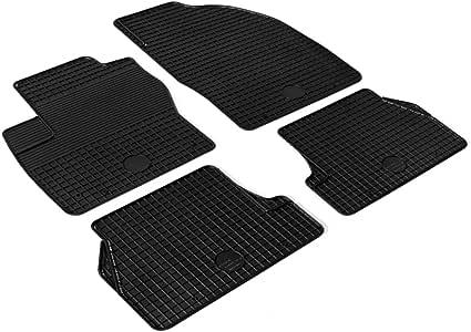 Festnight Auto Fußmatten Set 4 Tlg Gummimatte Gummi Automatten Rutschfest Autofußmatten Für Ford Focus C Max Grand C Max Küche Haushalt