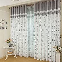 saln cortinas cortinas del dormitorio cortinas simples modernas rayas atmosfricas cortinas de tela cortinas de la cortina de la cortina cortinas acabadas
