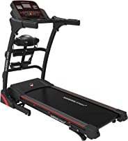 Marshal Fitness Auto Incline Home Use Digital Treadmill With Vibration Massager Foldable 242-4
