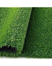 Badshah Craftsvilla® High Density Artificial Grass Polypropylene Carpet Mat for Balcony, Lawn, Door, Wall (40mm+)(3.3 * 10Feet)