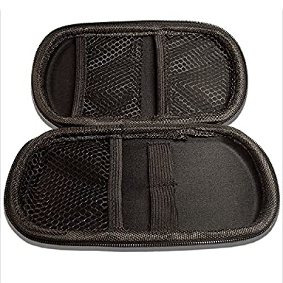 e Zigaretten Etui von Dipse - XL Case für Ihre eZigarette (Tasche passend für 2 e-Zigaretten) Schwarz von DIPSE