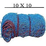 #9: Facto Power Cricket Net - (10x10 Feets, Blue)