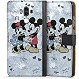 Huawei Mate 9 Tasche Hülle Flip Case Disney love Merchandise Geschenke