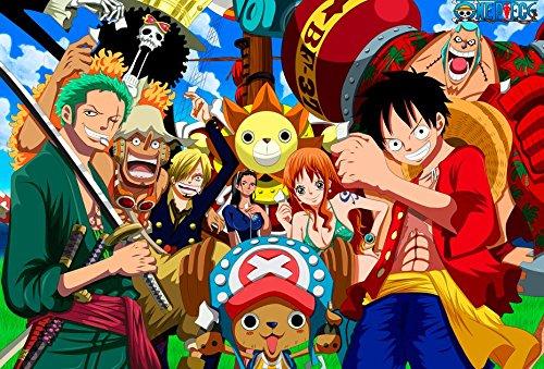One Piece 52x35 cm