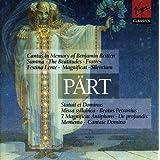 Arvo Pärt : Cantus in Memory of Benjamin Britten - Summa - The Beatitudes - Fratres - Festina Lente...