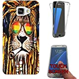 716 - Rasta Lion Weed Cannabis Hair Jamaican Design Samsung Galaxy A5 (2016) SM-A510F Fashion Trend Complete 360 Degree protection Coque Gel Rubber Silicone protection Case Coque
