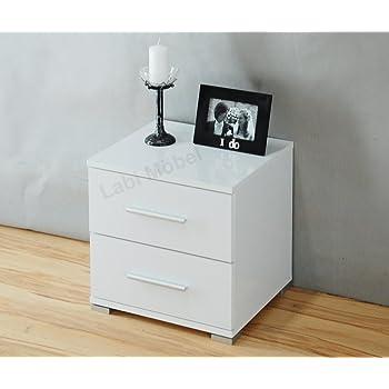 labi m bel nachtschrank nachttisch nachtkonsole n2 neli in wei hochglanz k che. Black Bedroom Furniture Sets. Home Design Ideas