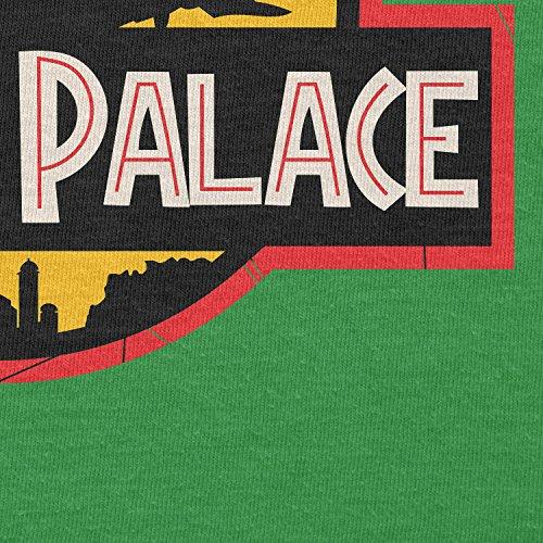 NERDO - Jabba's Palace - Herren T-Shirt Grün