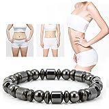 Braccialetto magnetico di perdita di peso, braccialetto di dimagramento elegante alla moda unisex braccialetto braccialetto d