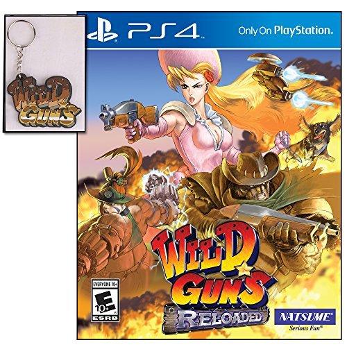 Natsume, Inc. Wild Guns Reloaded mit Limited Edition Schlüsselanhänger (Guns Wild)