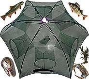 Automatic Foldable Umbrella Fishing Net Bait Trap Fish Minnow Crayfish Shrimp Trap Shrimp Crab Crayfish Traps