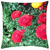 Essence of Flowers 03 - Throw Pillow Cover Case (18