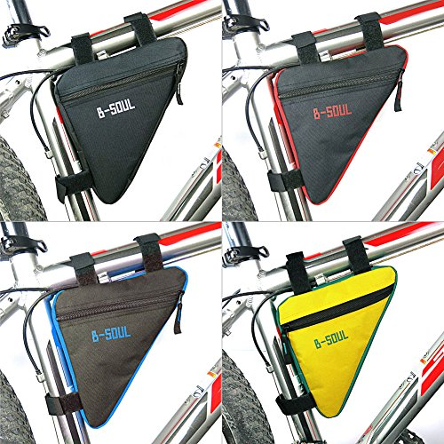 dairyshop Triangle Fahrrad Front Top Tube Rahmen Bag Fahrrad Tasche Satteltasche Fahrradtasche neu Schwarz