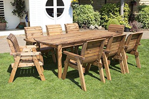 wooden garden dining sets. Black Bedroom Furniture Sets. Home Design Ideas