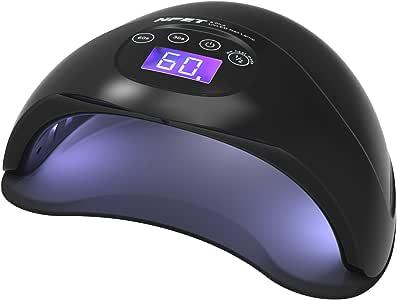 NPET 5 PLUS 48W UV LED Lampe Sèche Ongles Séchoirs à Ongles Nail Lamp - Noir 010