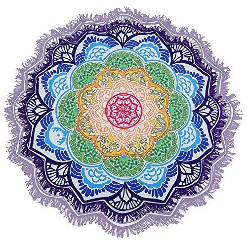 serviette-de-plage-tapisserie-ronde-tapestry-impression-hippie-mandala-yoga-mat-meditation-sunroyal-