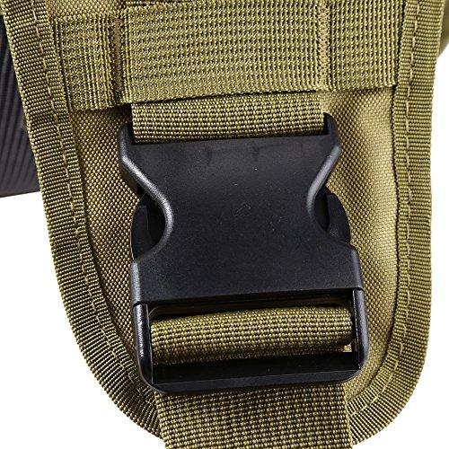 Mini Portable Crossbody petto borsa a tracolla zaino militare tattico zaino impermeabile piccola borsa messenger per escursionismo arrampicata ciclismo campeggio trekking viaggio tuta per fotocamera d Khaki