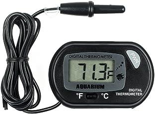 Zacro LCD Digitales Wasser Thermometer für Terrarium,Aquarium und Vivarium
