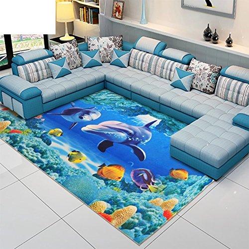 alfombra del dormitorio/Living comedor con tienda de alfombras moderna simple/ elegante mesa de centro alfombras-B 80x120cm(31x47inch)