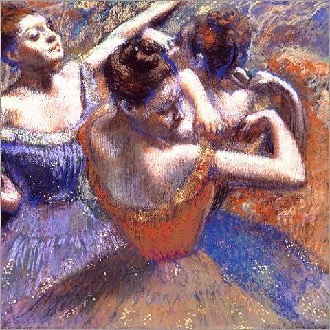 Impression sur bois 50 x 50 cm: Dancer with Raised Arms de Edgar Degas