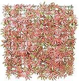 Sichtschutz aus PVC, Ahorn, rot, 50cm x 50cm, Papillon™