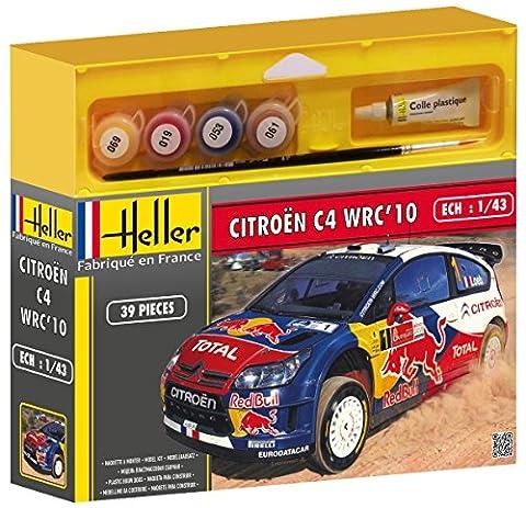 Voiture Rallye Citroen 1 43 - Heller - 50117 - Maquette - Citroën