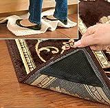 Teppichgreifer, Teppich Gummi Anti-Rutsch-Pad mit starken klebrigen doppelseitigen Teppichband 8st