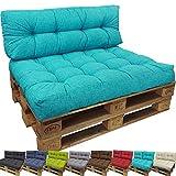 proheim Outdoor Palettenkissen Lounge Palettensofa Indoor / Outdoor schmutz- und wasserabweisende...