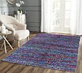 #7: Hand made multicolor cotton dhurrie / Rug