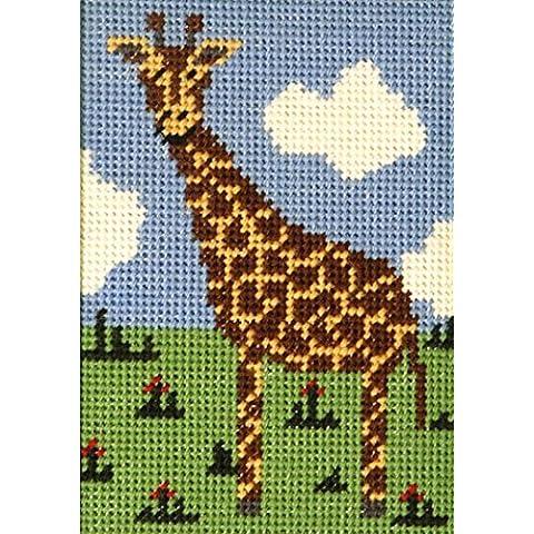 Kit per ricamo Giraffa per