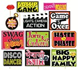 #9: SYGA Set Of 12 Funny Wedding Party Photo Booth Props Craft Item