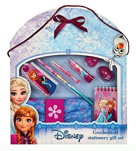 Under cover frwd0440–Astuccio Disney Frozen con Stabilo, marca Imbottitura, 30pezzi, Turchese, Schultertasche (multicolore) - 10110623 Geschenk Set, 8 teilig