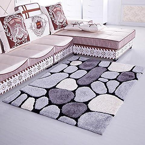 HDWN Crittografia super morbida coperta tappeto tappeto di Corea del sud seta stretch seta tappeto camera da letto soggiorno studio , 11 , 140*200cm