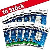 10x LED Ersatzleuchtmittel für Artemide Tizio 50 12V GY6.35 3000K 6 Watt (50 Watt)